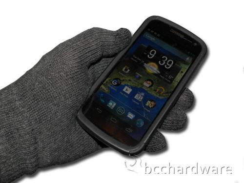 NuTouch Gloves with iDevice