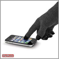 NuTouch Gloves with iPhone