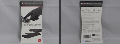NuTouch Gloves in Packaging