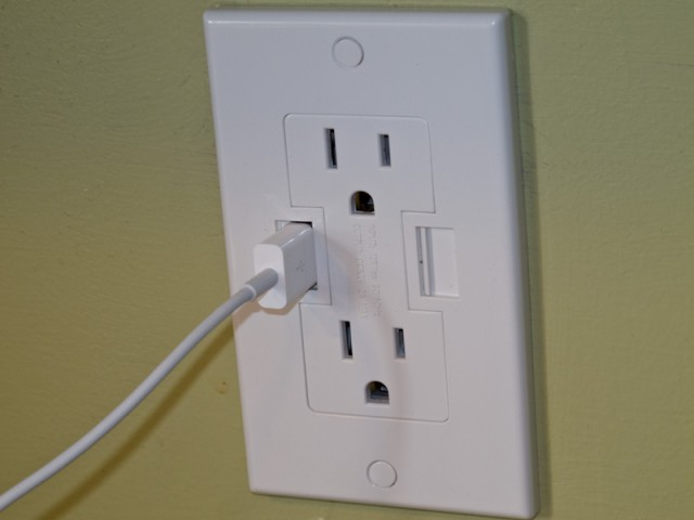 Usb Wall Outlet With Plug