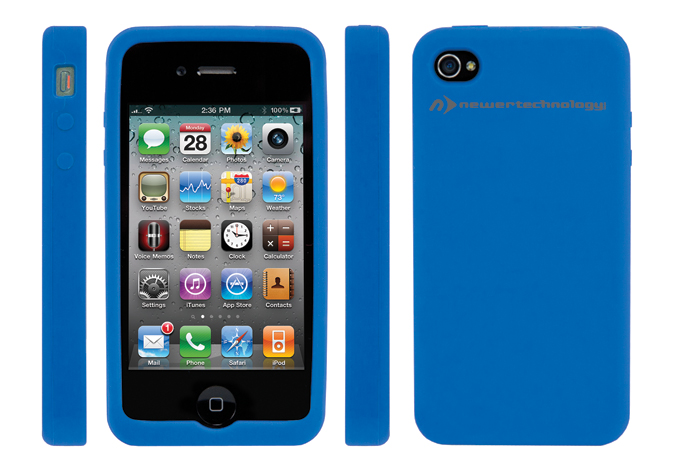 NuGuard Silicon Case for iPhone 4/4S