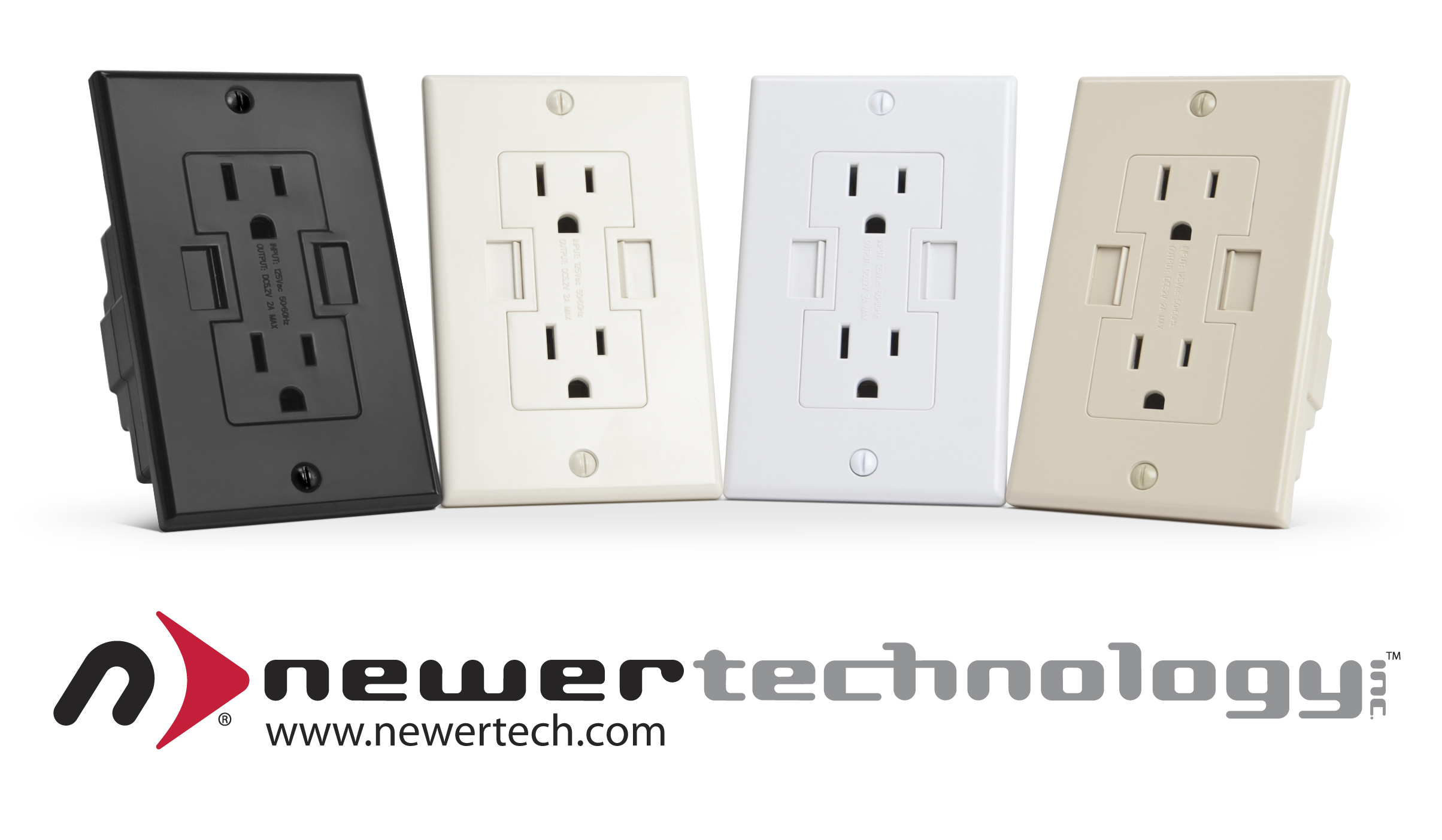 First And Only Patented Ul Listed Ac Usb Outlet From 22 99 Offers Black Ivory Light Almond Color Options To Complement Any Interior Decor