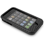 NuGuard Carbon Fiber Case black for iPhone 3G/3GS