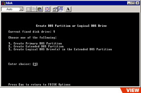 DOS Partition