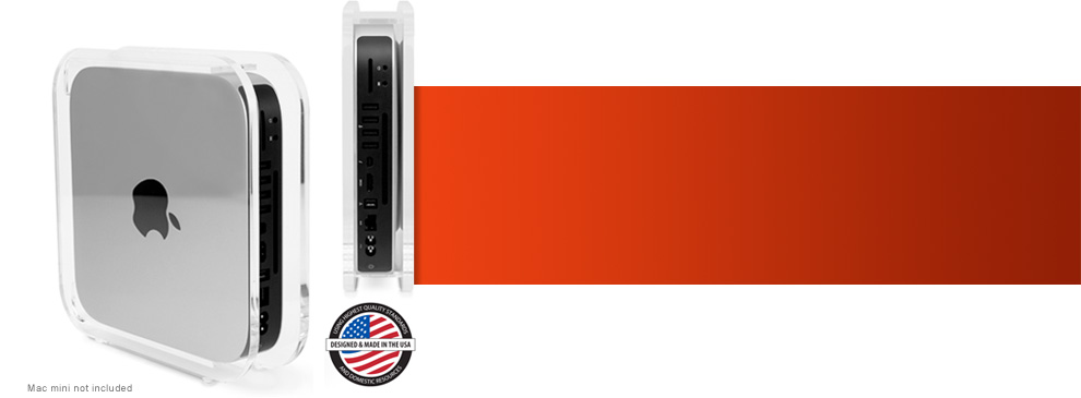 NewerTech® : Computer Accessories and Upgrades : NuCube® Vertical Stand for  2010-2012 Apple® Mac® mini Models