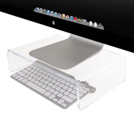 NuStand mini XL with Apple Keyboard