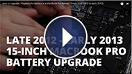 Laptop Battery Installation Video