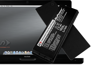NuPower Batteries for MacBook 13-inch Black non-Unibody
