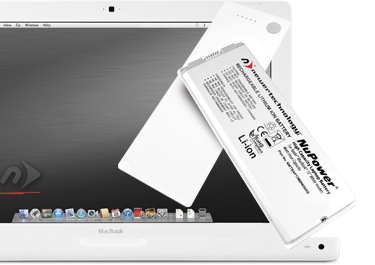 NuPower Batteries for MacBook 13-inch White non-Unibody