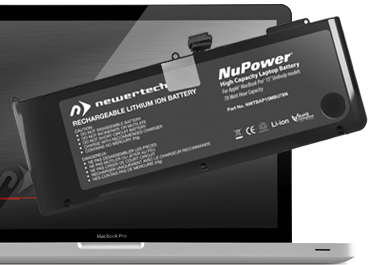 NuPower Batteries for MacBook Pro 15-inch Unibody Mid-2009 and Mid-2010 Models