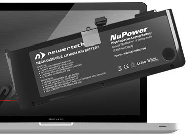 newertech batteries nupower battery for macbook pro. Black Bedroom Furniture Sets. Home Design Ideas
