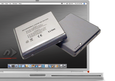 NuPower Batteries for PowerBook G4 15-inch Titanium