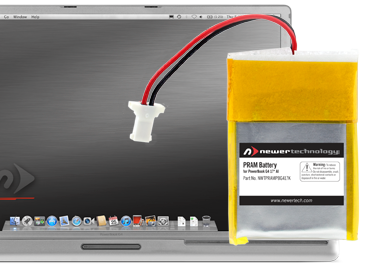 PRAM Batteries for PowerBook G4 17-inch Aluminum 1.5GHz – 1.67GHz Systems