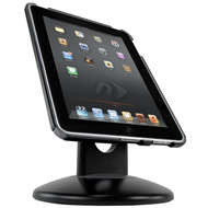 NuGuard GripStand with GripBase iPad Front Black