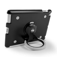 NuGuard GripStand 3 with Black iPad Rear View Horizontal
