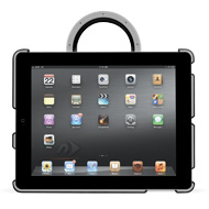 NuGuard GripStand 3 with Black iPad for Travel