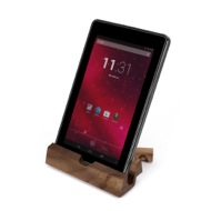 iEcostand Walnut with Tablet