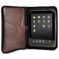 iFolio cognac with iPad