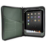 iFolio dark green with iPad