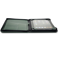 iFolio dark green NewerTech open