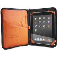 iFolio orange with iPad