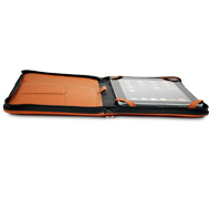 iFolio orange NewerTech open