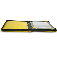 iFolio yellow NewerTech open