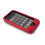 Red NuCase Case for iPhone 3