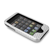Silver NuCase Case for iPhone 3