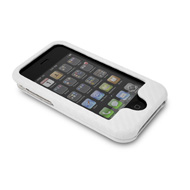 White NuCase Case for iPhone 3