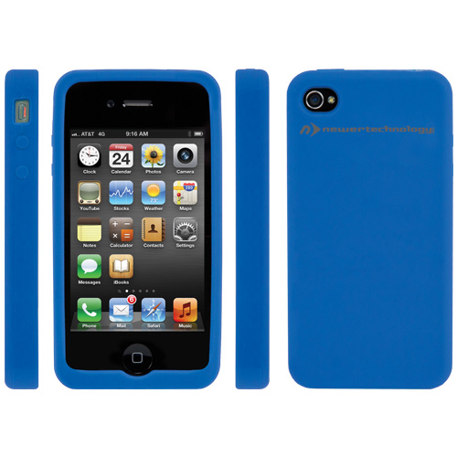 NewerTech® : iDevice : NuGuard Silicone Case for Apple® iPhone® 4 & 4S