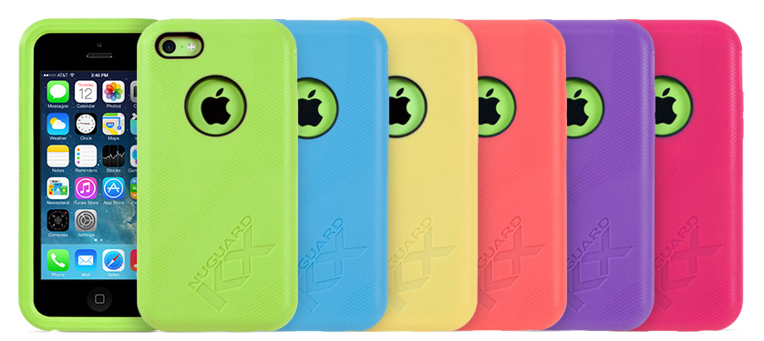 huge selection of 8da62 1b5ed NuGuard KX Protective Cases For iPhone 5C