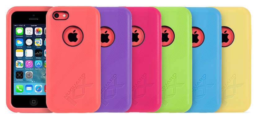 huge selection of 4fb75 2aa73 NuGuard KX Protective Cases For iPhone 5C