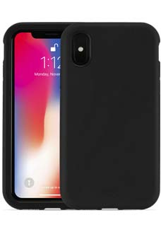 Black KX Case for iPhone X