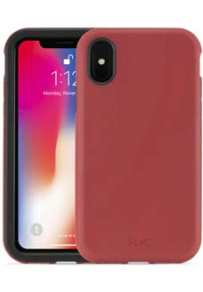 Crimson KX Case for iPhone X