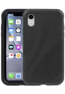 Black KX Case for iPhone Xr
