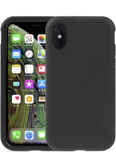 Black KX Case for iPhone Xs/X