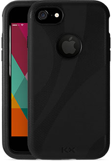 Black KX Case for iPhone 7