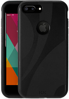 Black KX Case for iPhone 7 Plus