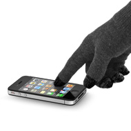 NuTouch Gloves with Apple iPhone