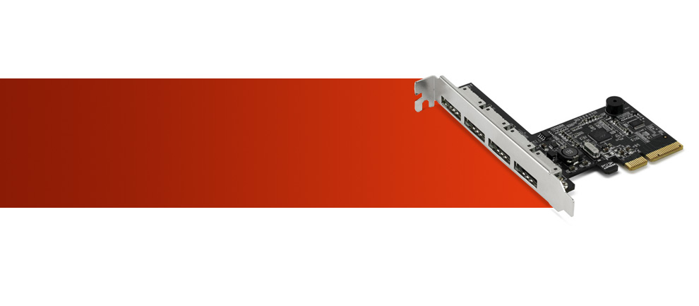 NewerTech® : Storage : MAXPower 4-port eSATA 6G PCIe 2 0 RAID