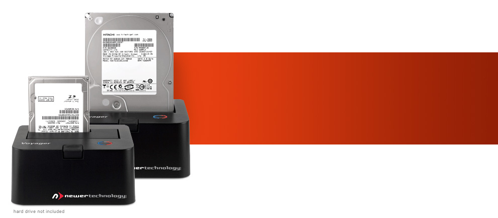 Voyager SATA drive docking solutions
