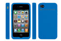 NewerTech NuGuard Silicone for iPhone 4 Blue.