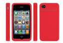 NewerTech NuGuard Silicone for iPhone 4 Red.