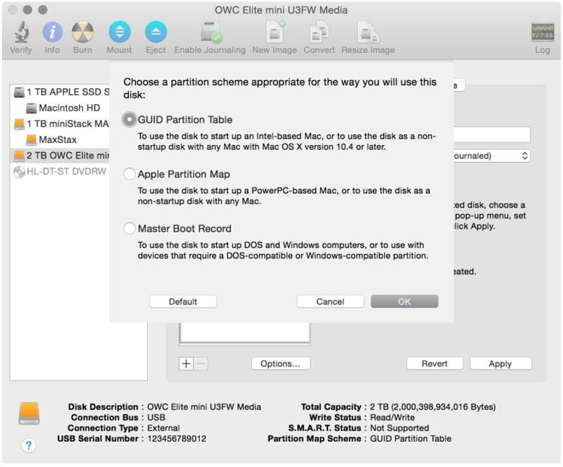Newer Technology® Support: Guides: OS X Drive Formatting Guide Using